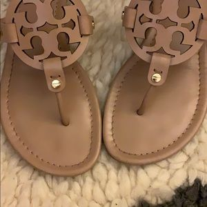 Tory Burch Shoes - Tory Burch Miller sandal Makeup Pink Nude 9